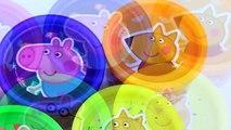 Boîtes des œufs à lintérieur souris hors hors porc jouer jouets Peppa surprise minnie doh disney 2