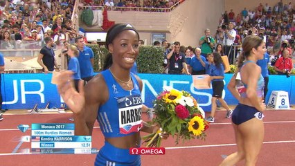 Athlétisme - Meeting Herculis - Harrison s'impose sur 100m haies