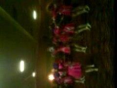 End of juniors dance