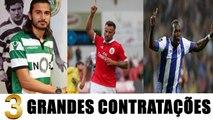 As Grandes Contratações 2017/2018 - SPORTING - BENFICA - PORTO