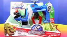 Dinosaure héros jurassique parc histoire jouet boisé monde Playskool imaginext disney pixar rex
