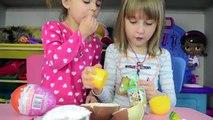 Extra Large Kinder Surprise Eggs- Part 3 - Fun Kid Toys