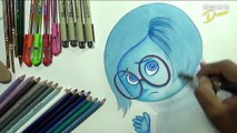 Drawing Pixar Inside Out (Anger) by Justine Lukban - video