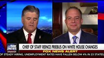 'I knew it was a lie': Hannity tries to help Reince Priebus convince others he and Scaramucci are close friend'