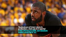 Cavaliers' Kyrie Irving Reportedly Asks to Be Traded
