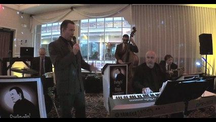 Cantante di Jazz Frank Lamphere canta Chicago in italiano