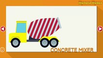 Street Vehicles Names for Kids. Cars and Trucks. Ambulance Garbage truck Police car Tro