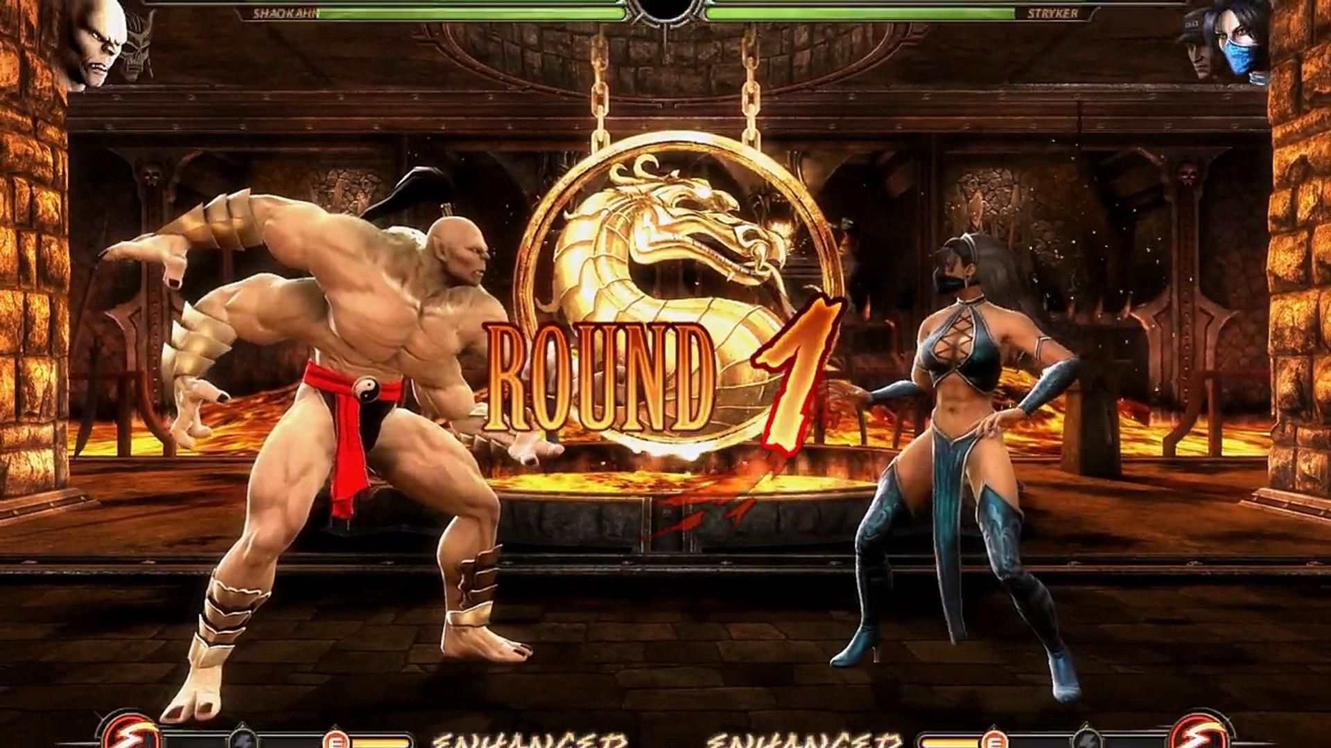 Mortal Kombat Komplete Edition Goro Mk1 Shao Kahn Mk3 Costume