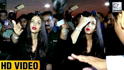 Aishwarya Rai SHOUTS At Media Photographers For Clicking Pictures Continuously