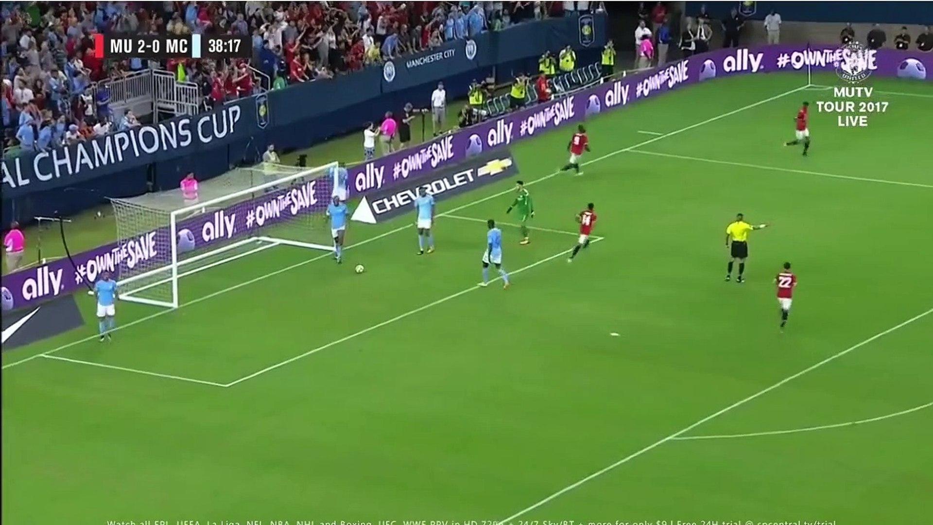 [ Full Replay ] - Marcus Rashford Goal 2-0 - Manchester United vs Manchester City July 21 2017