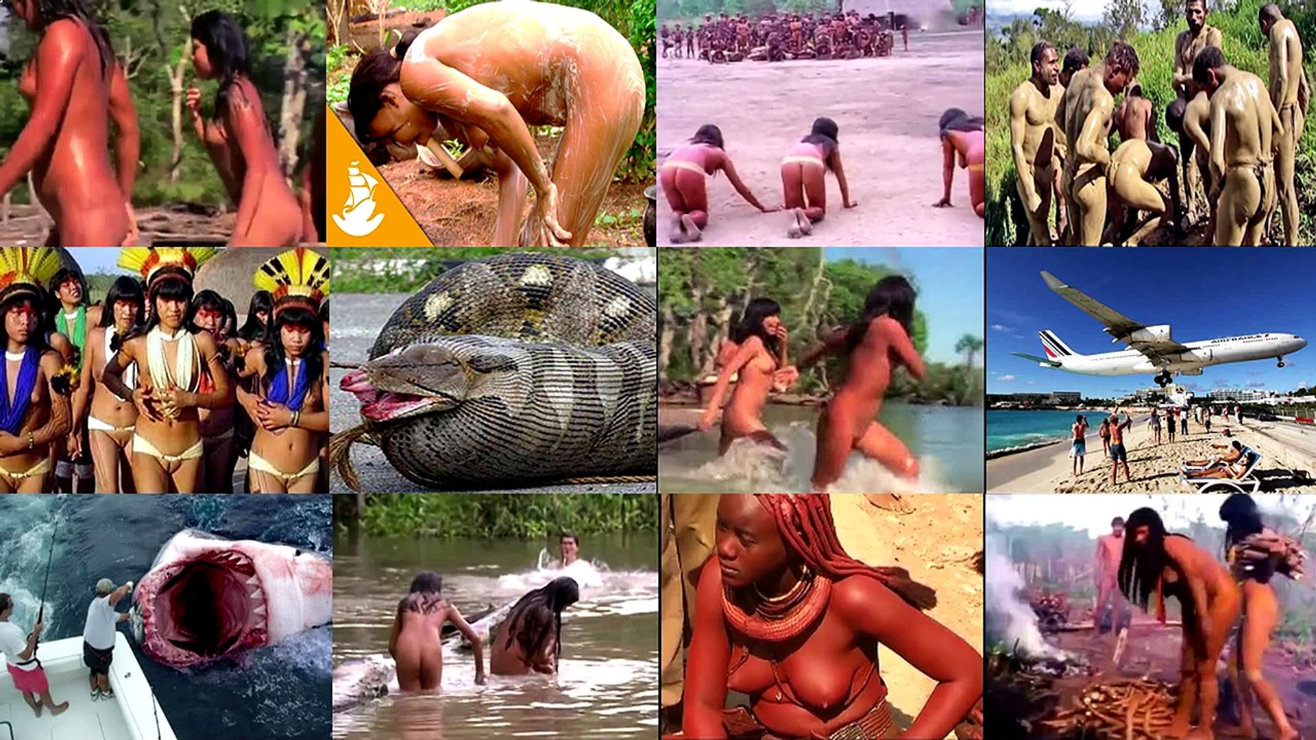 Yanomami Tribes Amazon 2016 People People Video in Amazon Rain Forest