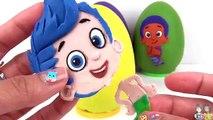 Et bulle des œufs guppys entaille jouer jouet avec Jr doh surprise oona molly deema tuyc |
