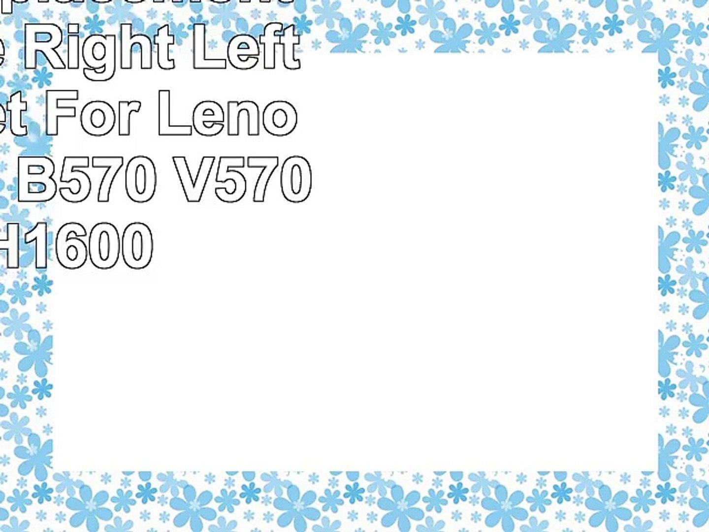 Eathtek Replacement LCD Hinge Right Left Hinges Set For Lenovo Ideapad B570  V570