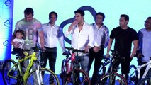 Salman Khan, Arbaaz Khan & Suhail Khan Launch 'Being Human E-Cycles'