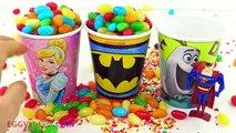 Jelly Beans Surprise Cups The Good Dinosaur Superman Teenage Mutant Ninja Turtles Hot Whee