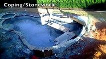 Cet été on fait la piscine... Timelapse de la construction d'une piscine