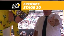 Départ de Froome / Froome starts - Étape 20 / Stage 20 - Tour de France 2017