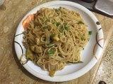 CHICken chinese noodles-chicken chowmein recipe-chicken hakka noodles