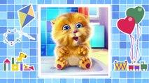 Enfants pour dessins animés dessin animé pro baignent les enfants minous mignons chats intéressants