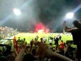 fin du match Libourne Caen