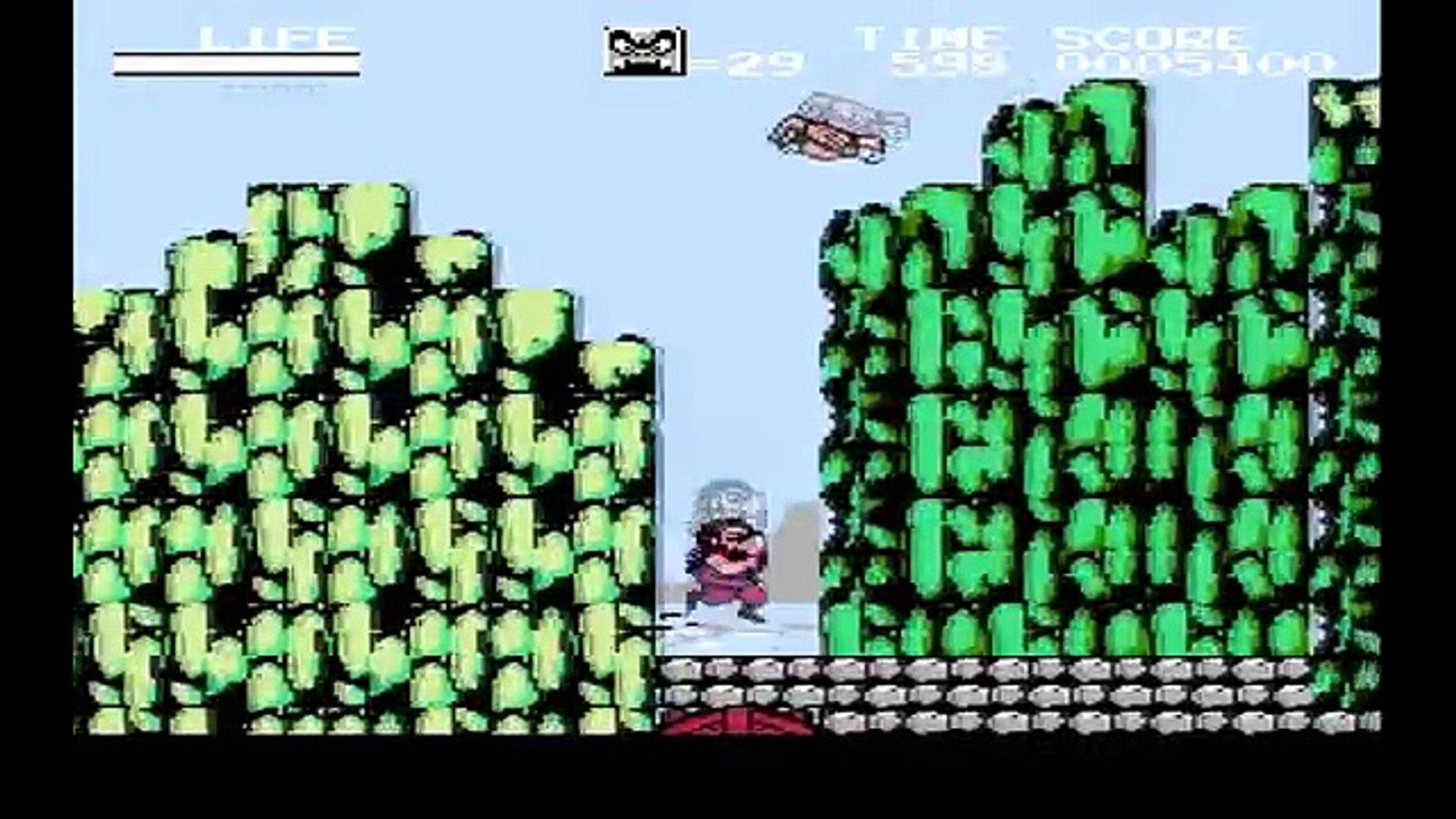 Hi no Tori Houou Hen Gaou no Bouken прохождение rus(NES, Famicom, Dendy)