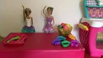 Et cuisine biscuits cuisine de luxe cuisine suinter tarte porc jouer avec poupée Peppa doh barbie
