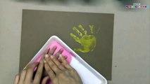 Искусство дизайн ткань рука Дети Дети ... Покрасить Напечатанный проект футболка футболка полученный
