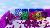 Five Nights at Freddys FNAF Learn Colors! Play-Doh Dippin Dots Funko Pop Toy Surprises! F