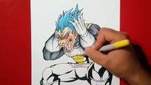 Dragonball Super: Super Saiyan Cabba vs Super Saiyan Blue Vegeta