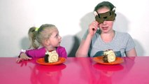 Desafío manos en Niños ✔ ✔ desafío sin manos sin manos comer por la velocidad de la torta Desafío AH