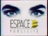 FR3 - 12 Janvier 1989 - Pubs, teasers, début Soir 3 (Philippe Dessaint)