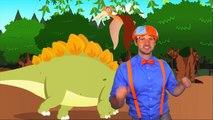 Dinosaures les dessins animés pour enfants dinosaure dansant avec doigt la famille chansons