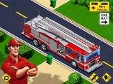 Et les autobus ville déverser feu des déchets enfants plus un camion camions Véhicules hd