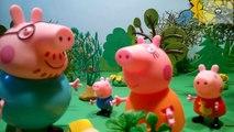 Pag 1 Año Nuevo Peppa Pig regalos de Navidad de Santa Claus con Peppa de dibujos animados juguetes