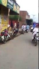 Abid Shair Ali On Bike