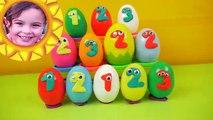 Huevos huevos huevos Es inferior Aprender números tiendas hombre araña sol sorpresa con 123 thomas olaf mlp disney