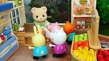 El Delaware por de la fe. un Jorge el el cerdo allí pasado peppa hacen compra supermercado vídeos juguetes peppa esp