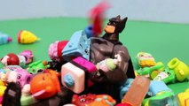 Shopkins Blind Bags Surprise Shopping Baskets with Spiderman! Shopkins Toys Review DisneyC