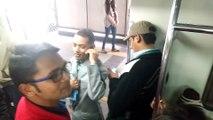 Must watch stupid man in Delhi metro