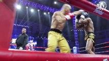 SHAOLIN KUNG FU MONK VS MUAY THAI FIGHTER! - MMA Mixed Martial Arts Fight Fighting Match