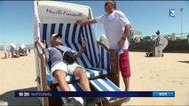 Calvados : Merville-Franceville se démarque avec ses corbeilles de plage