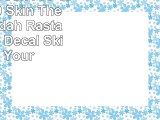 Rasta MacBook Pro 13 2009  2010 Skin  The Lion of Judah Rasta Flag Vinyl Decal Skin