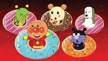 アンパンマン アニメ #24 ❤️ ドーナツ ❤ アンパンマン ばいきんまん うーたん わんわん むしむしくん ❤ おもしろアニメ anpanman animation