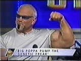 Scott Steiner, Midajah & Grand Master Sexay on The Footy Show [4th April 2002]