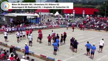 Secondes parties second tour de poules M1, France Quadrettes, Sport Boules, Chambéry 2017