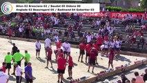 Premières parties second tour de poules M1, France Quadrettes, Sport Boules, Chambéry 2017
