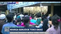 Diisukan Bangkrut, Sebuah Toko Emas di Bekasi Diserbu Warga