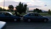 Araba İtmede Türk İşi Çözüm Kamerada