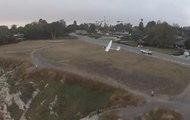 Un drone et un planeur se crashent en plein vol !