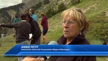 D!CI TV : lecture de paysage depuis le col du Noyer pour le festival de l'alpage